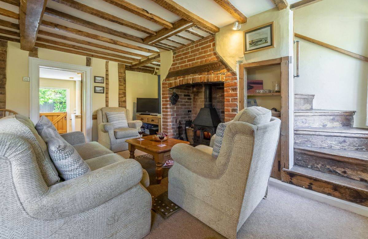 Holly Cottage is located in Huntingfield