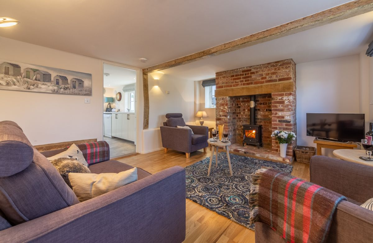 Briar Cottage is located in Friston